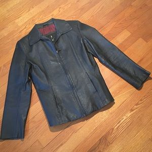 f8999370075 Jackets   Blazers - Joshua Ross Leather Jacket